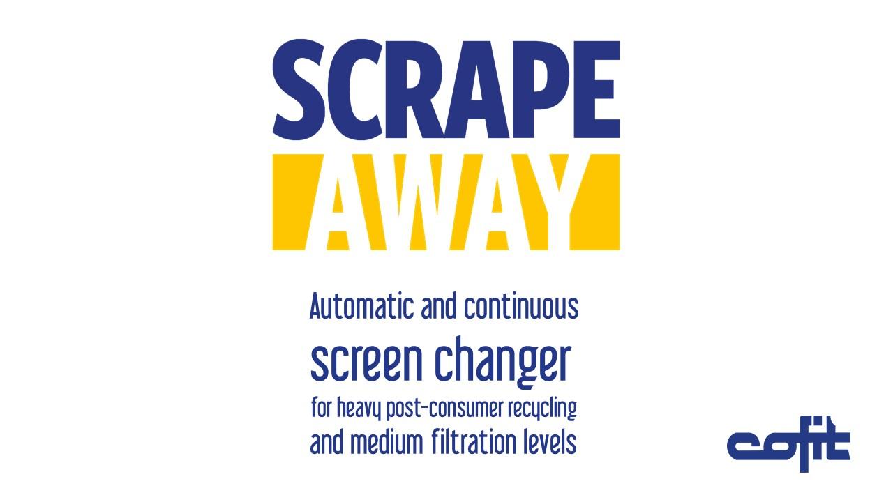 Scrapeaway screenchanger - Cofit