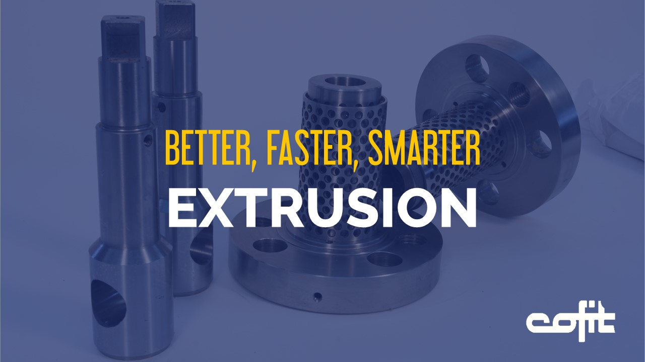 Better, faster, smarter extrusion with Cofit screen changers