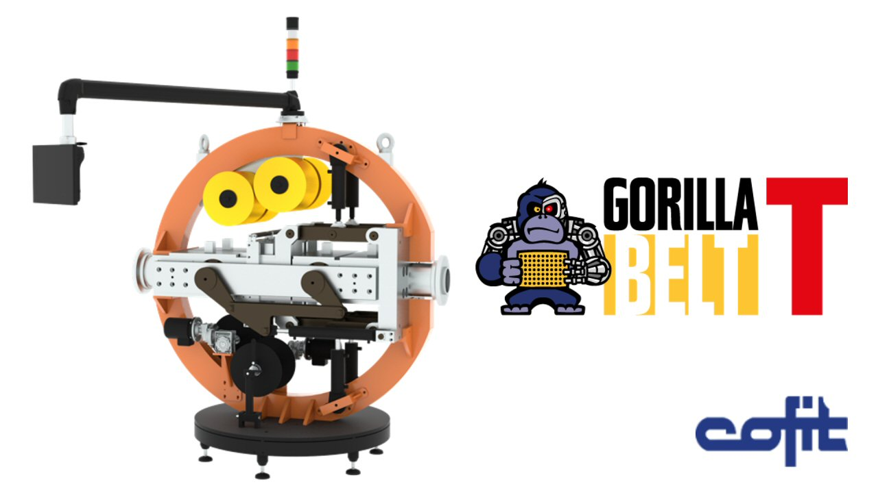 Gorillabelt T - Cofit automatic and continuous screen changers