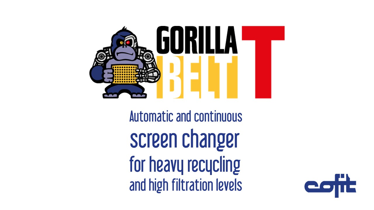 Gorillabelt T screen changer - Cofit