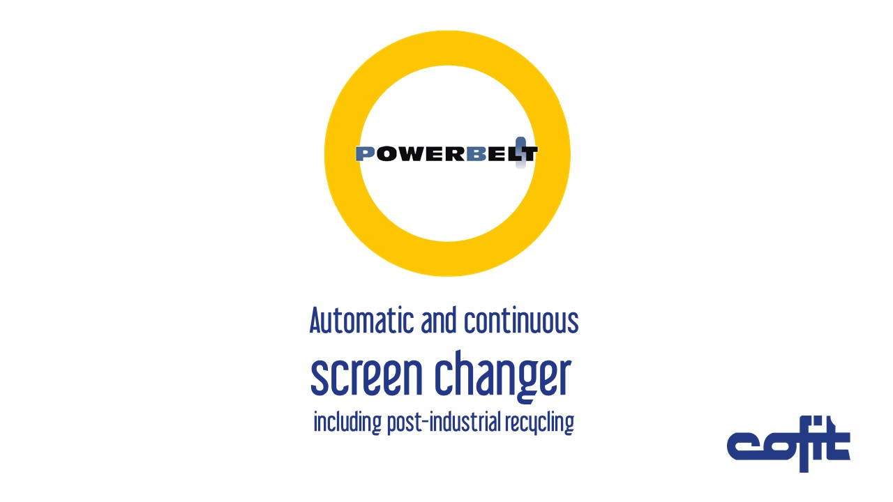 Powerbelt screen changer - Cofit