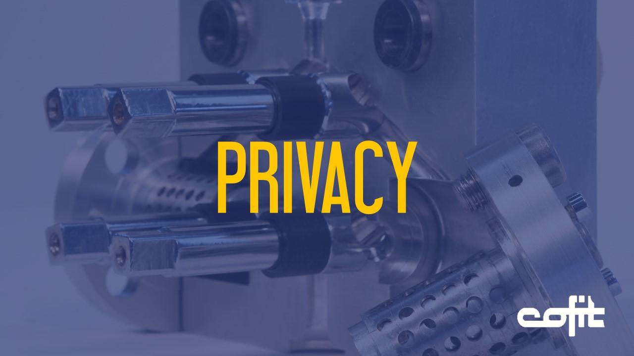 Privacy Cofit