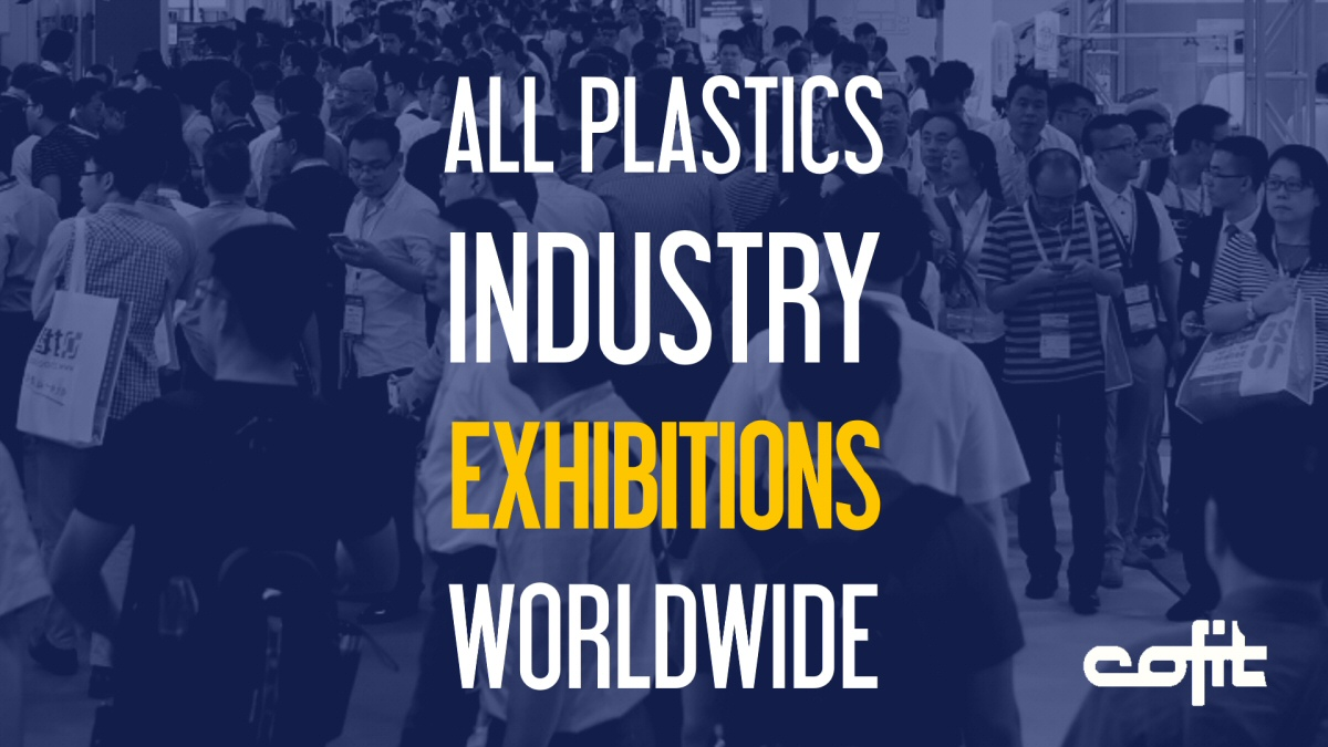 Listing of all plastics industry exhibitions worldwide