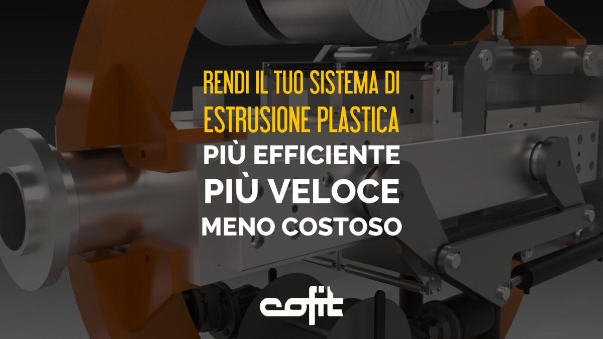 Cambiafiltri per un'estrusione plastica più efficiente, più veloce, con meno costi