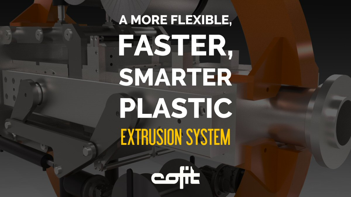 A smarter, faster and more flexible plastic extrusion system