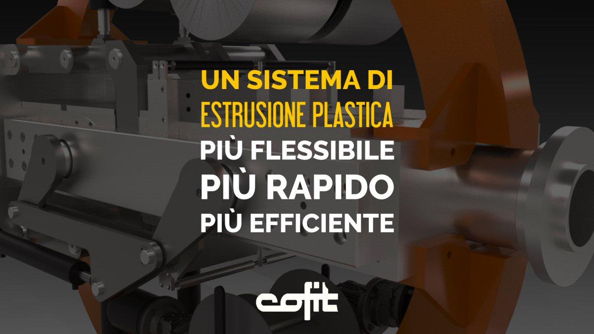 Un sistema di estrusione plastica più flessibile, più rapido, più efficiente