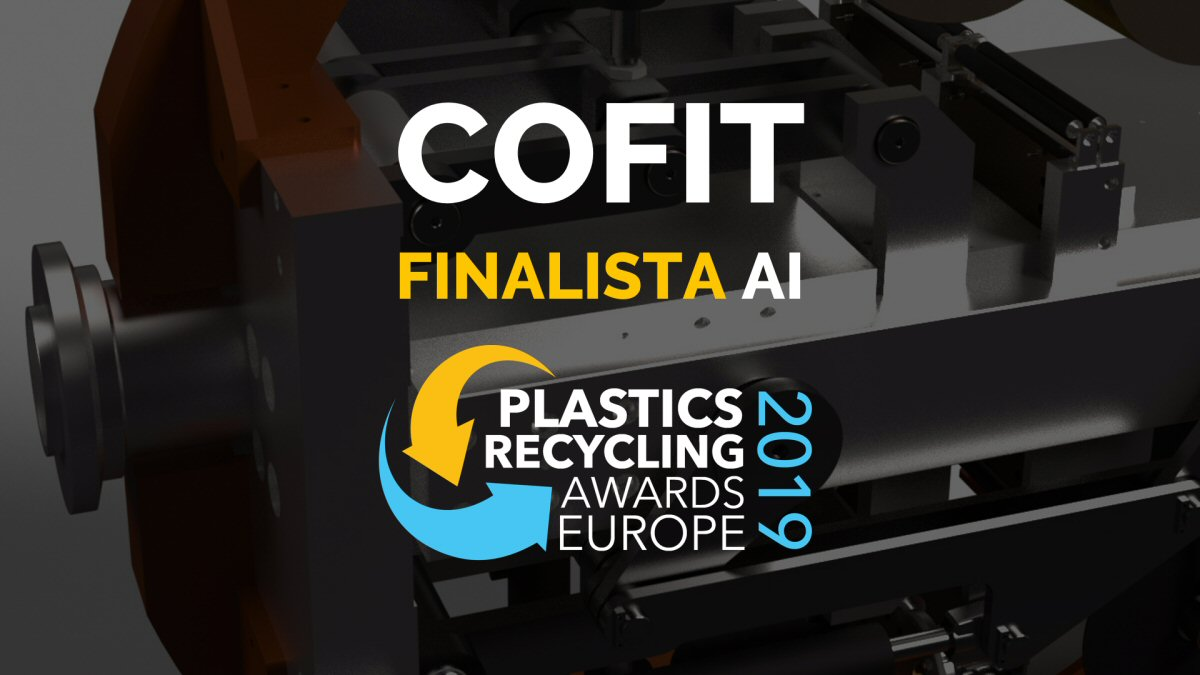Plastics Recycling Awards Europe 2019: Cofit to be finalist
