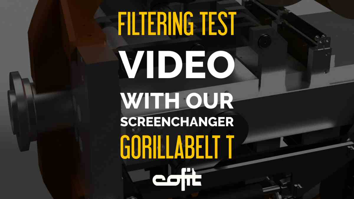 Filtering test with automatic/continuous screenchanger