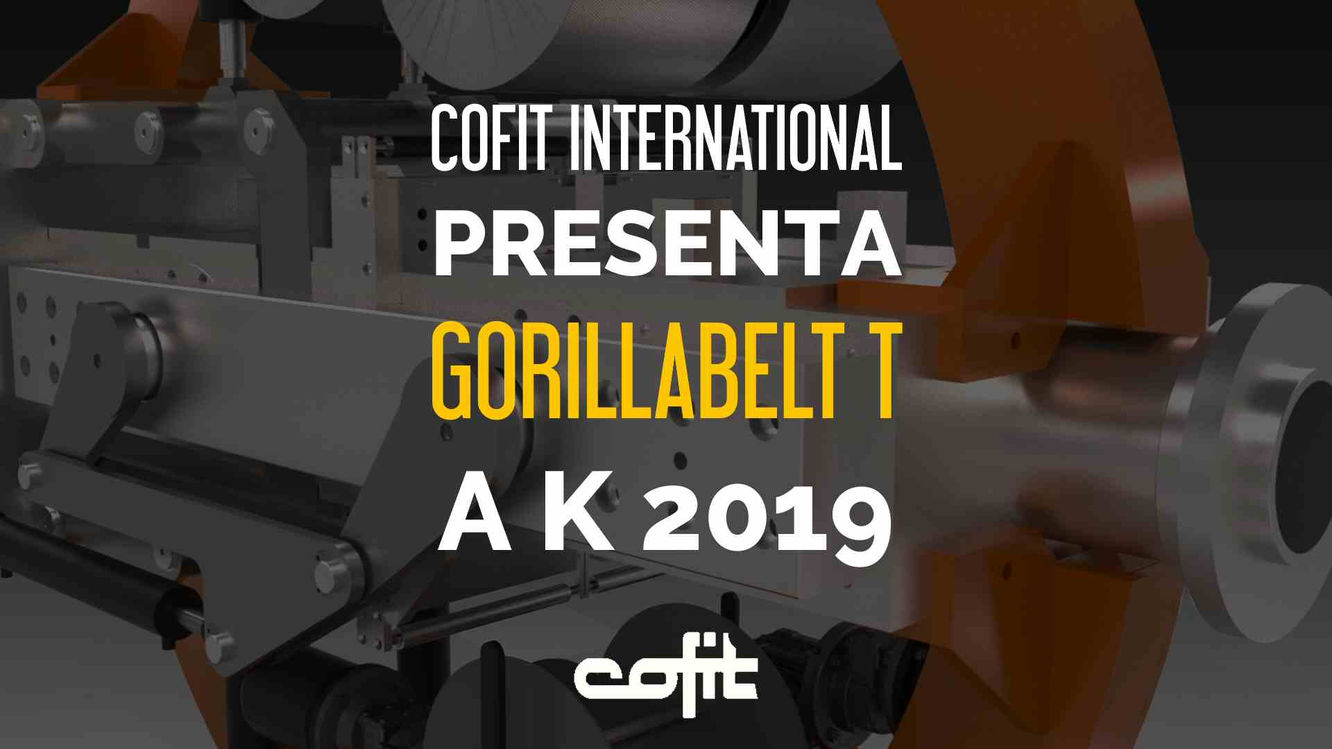 Cofit International presenta Gorillabelt T a K 2019