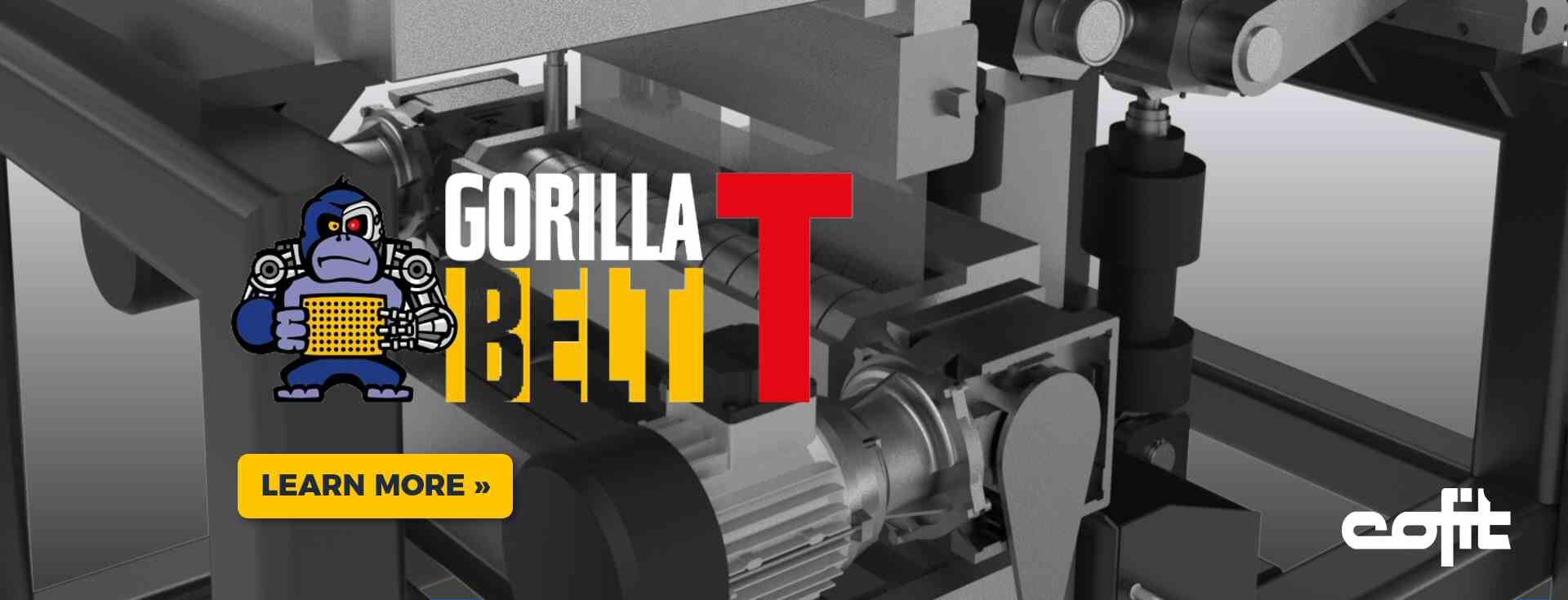 Gorillabelt T : screenchanger Cofit International 2020