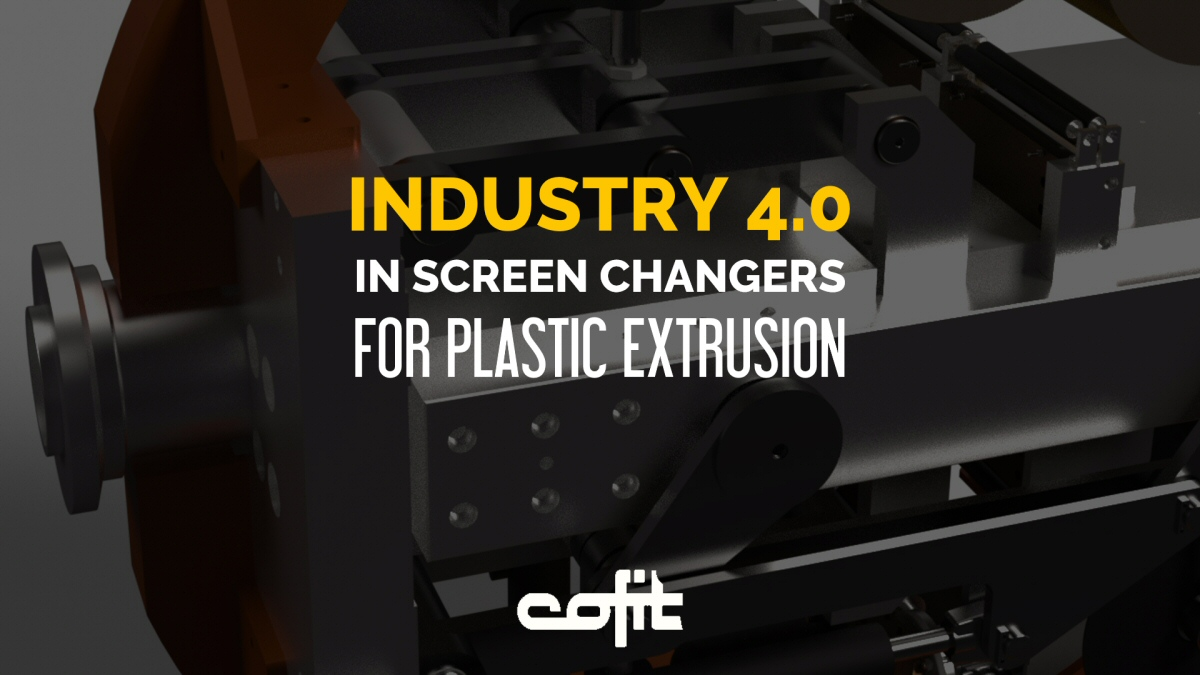 Industry 4.0 vision in screen changers for plastic extrusion