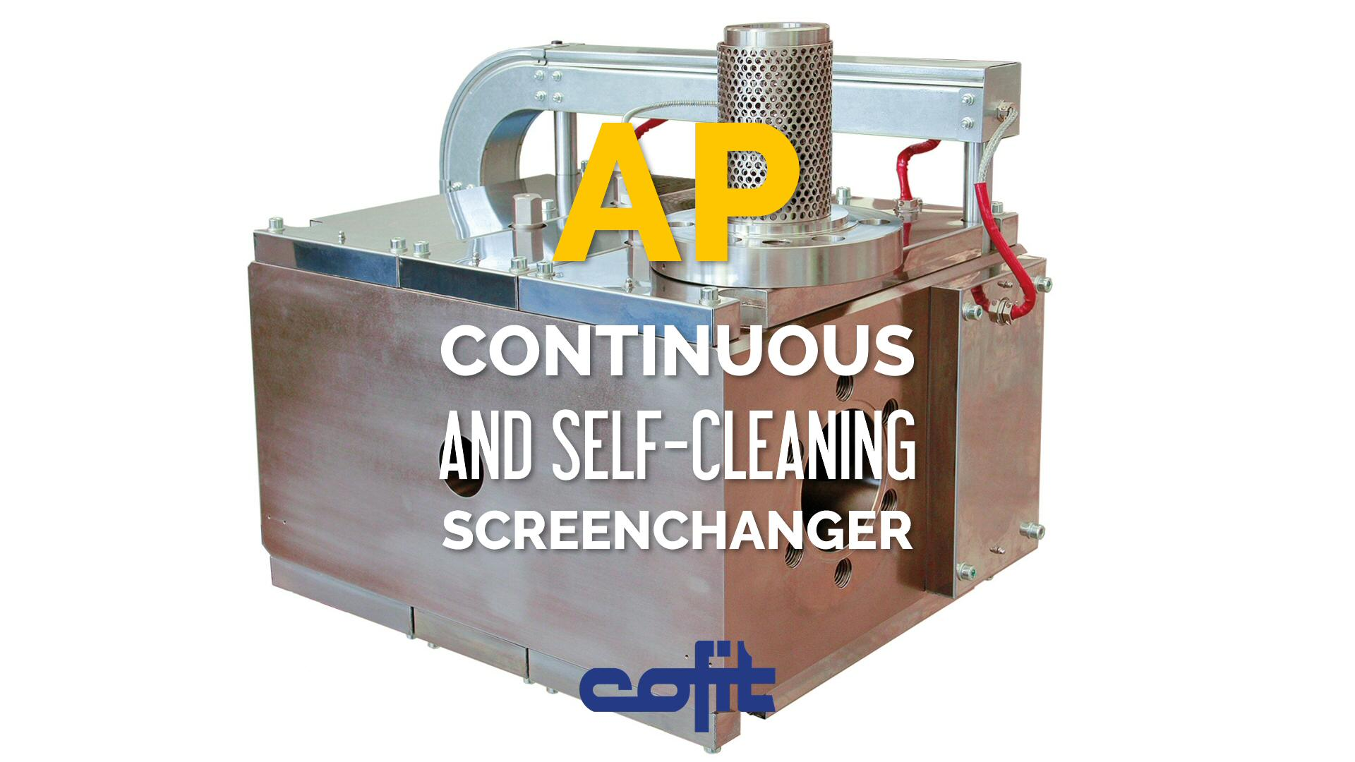 AP - Continuous self-cleaning screenchanger