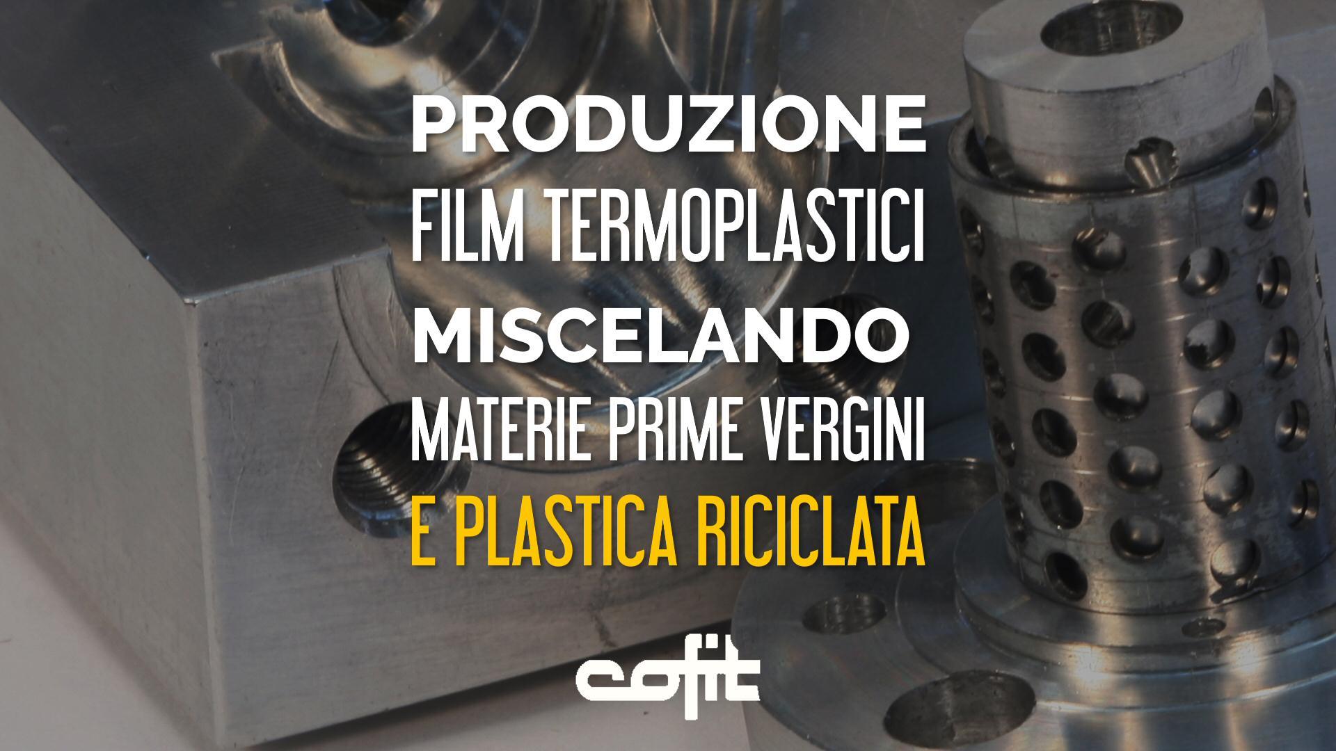 Cambiafiltri per film con materie prime vergini e riciclate